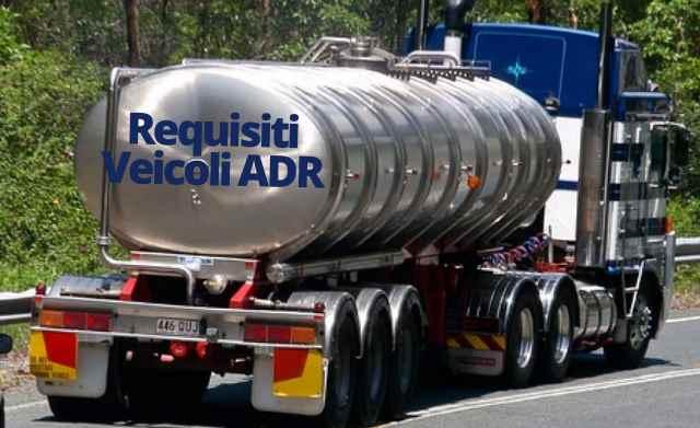 Requisiti veicoli ADR