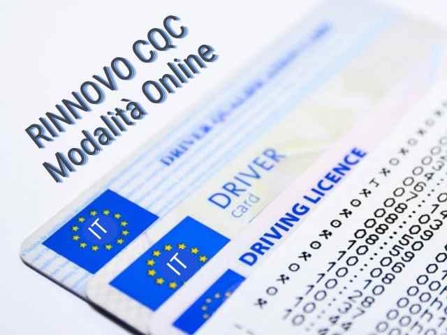 Rinnovo CQC: consentiti corsi in modalità online