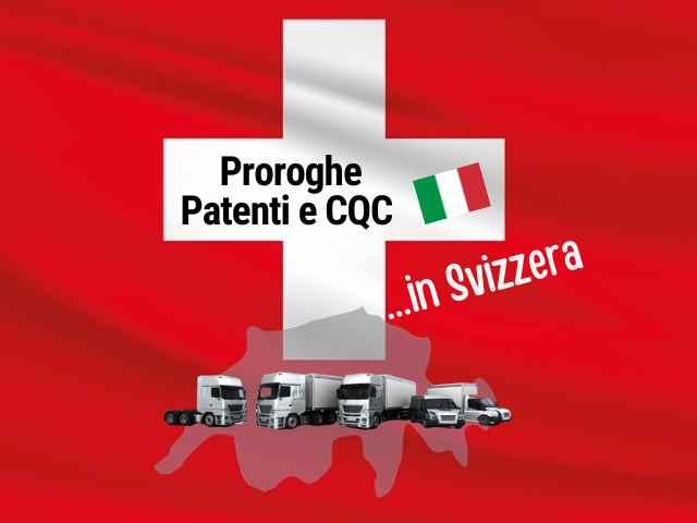 Proroghe Patenti e CQC italiane in svizzera